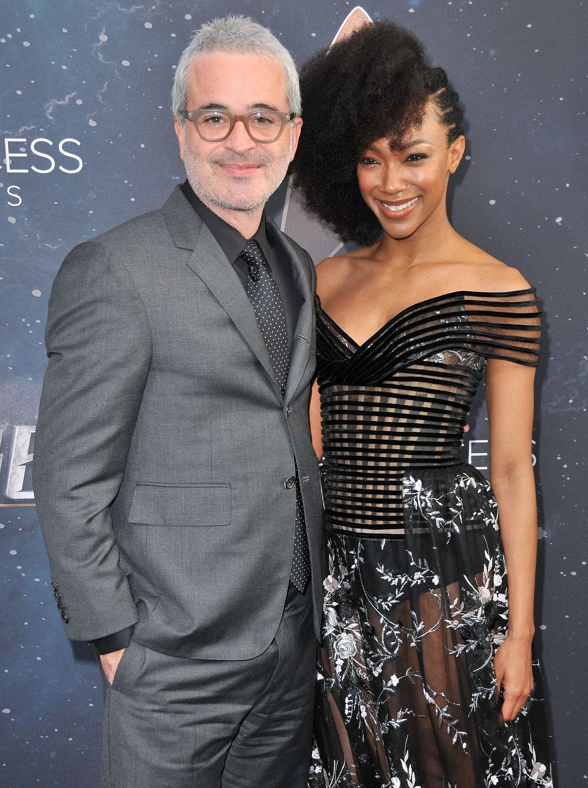 Sonequa Martin Green At Star Trek Discovery Premiere at the ArcLight Cinerama Dome