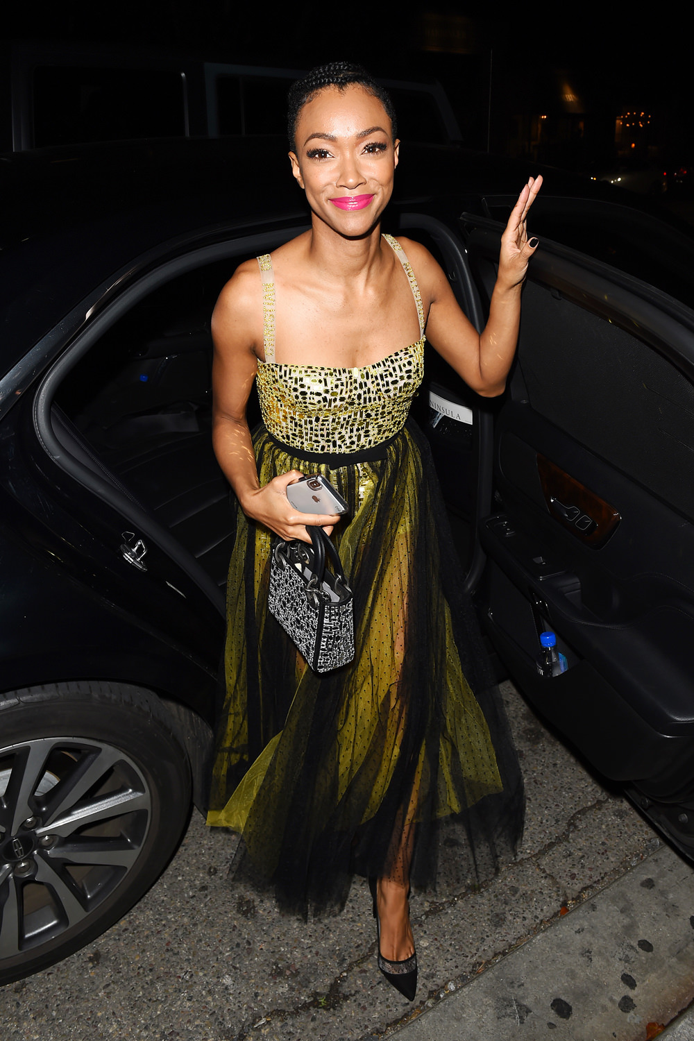 Sonequa Martin-Green at Christian Dior Party