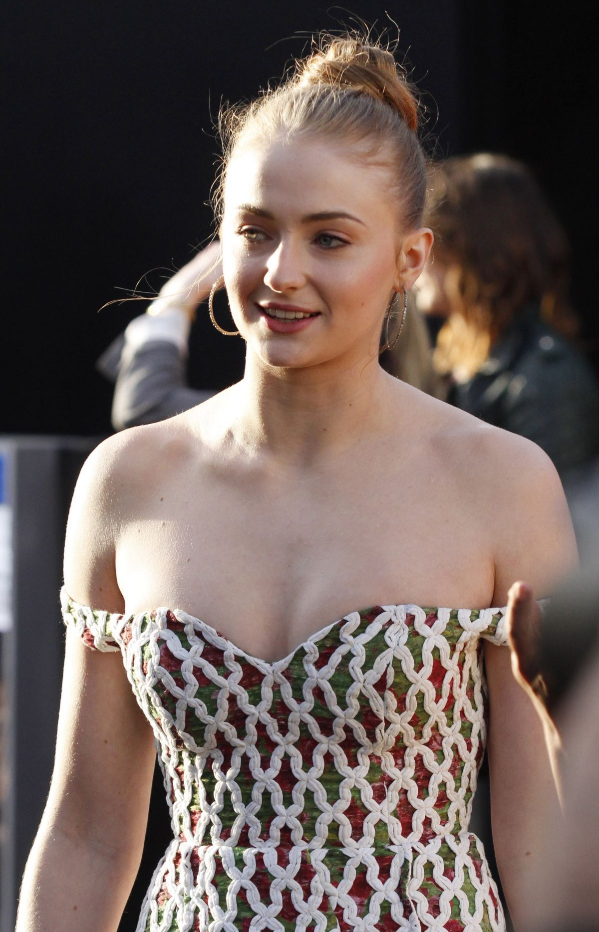 Sophie Turner Stripless