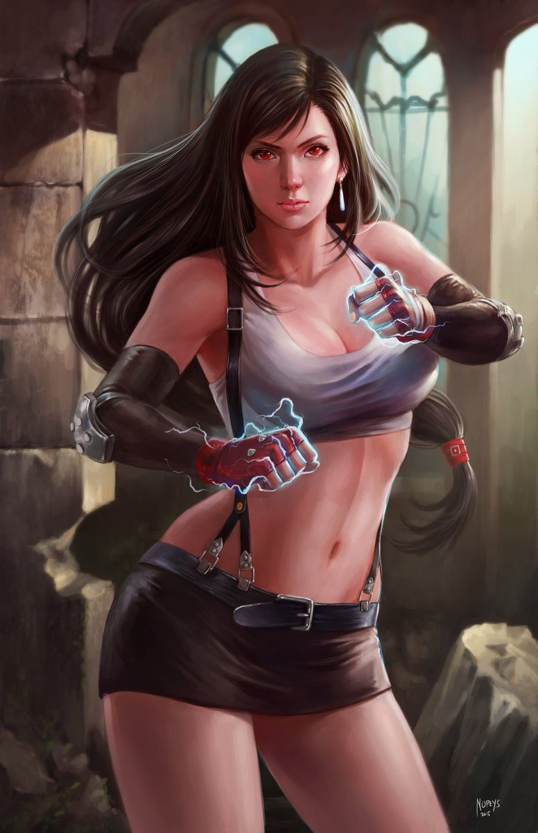 Tifa Lockhart Final Fantasy Hot