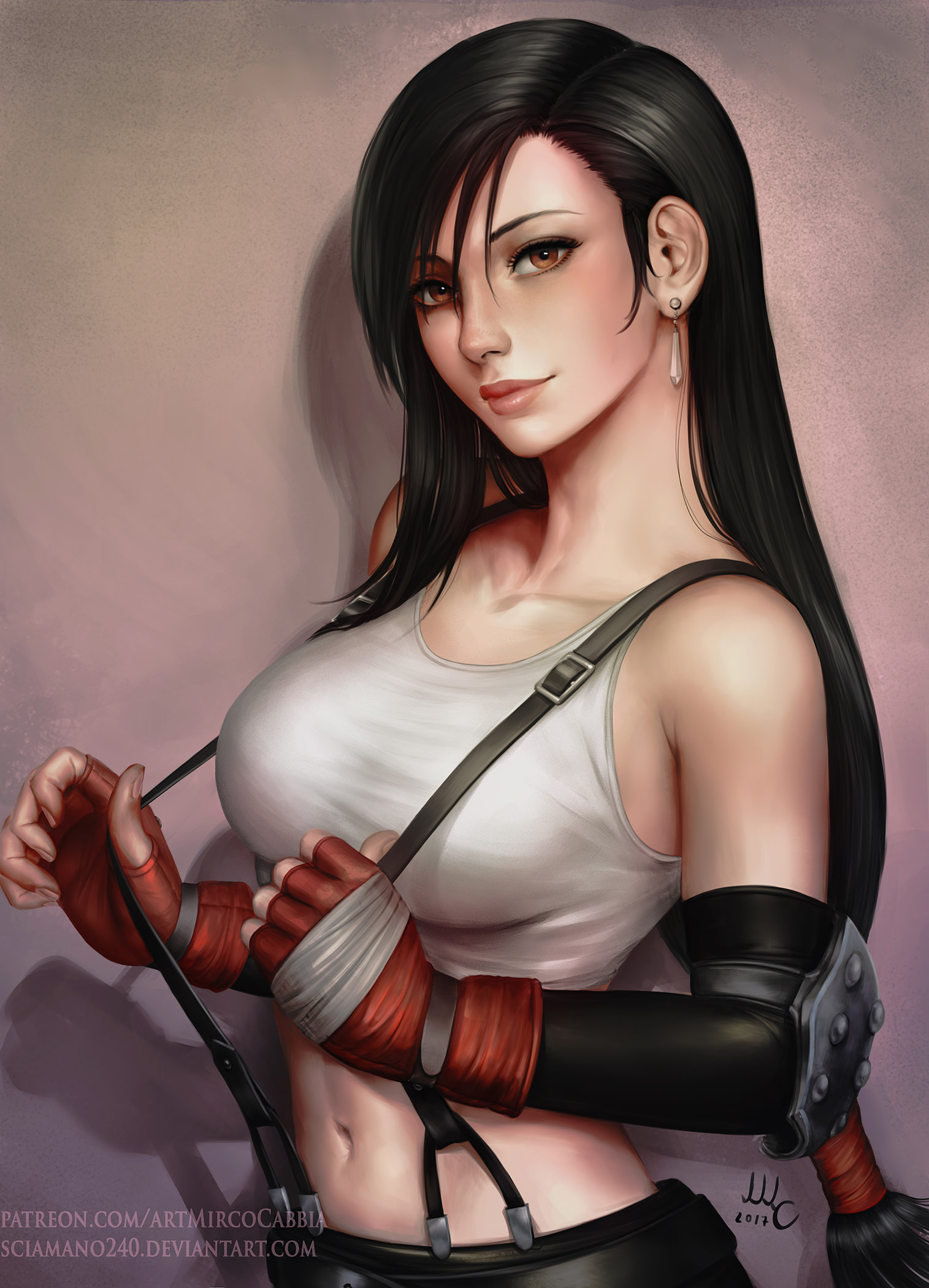 Tifa Lockhart Hair