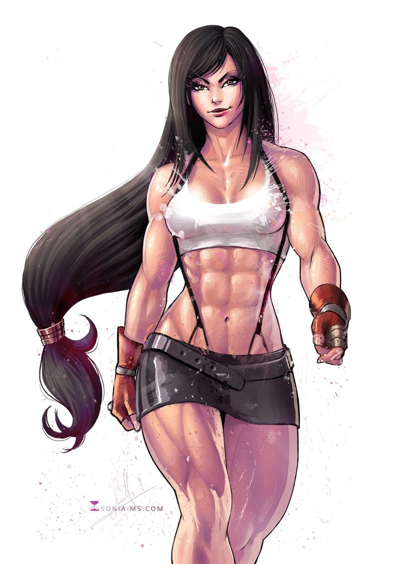 Tifa Lockhart Sexy Body