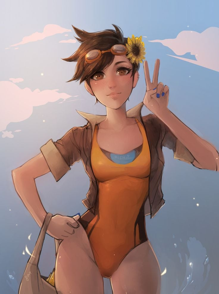 Tracer Sexy Look