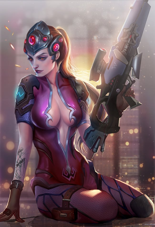 Widowmaker Amazing