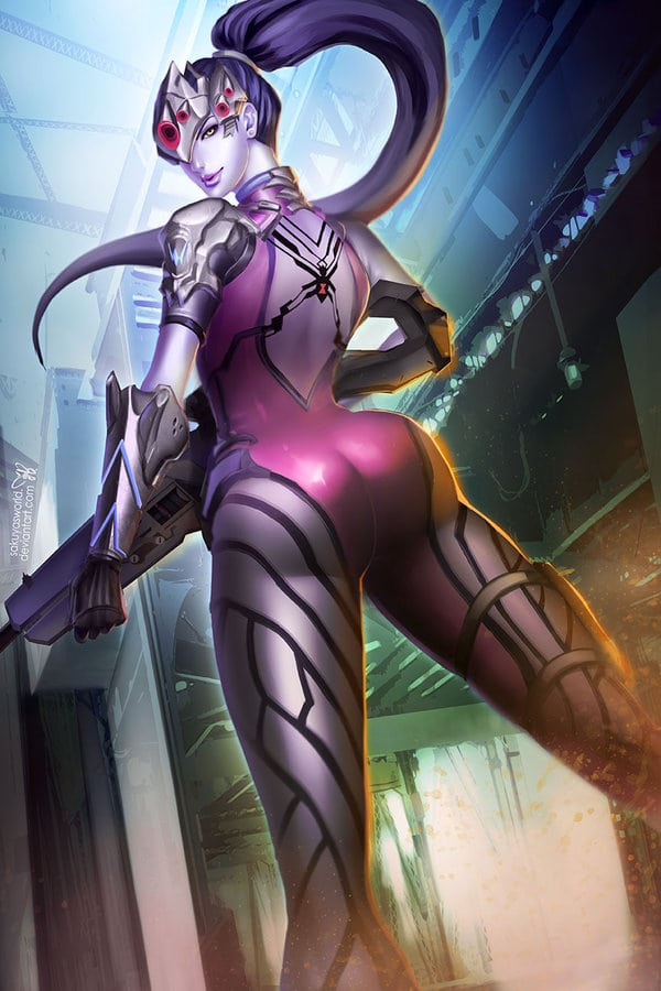 Widowmaker Back