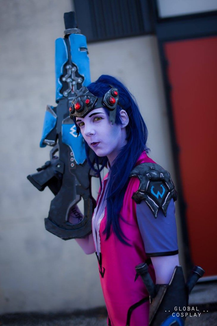 Widowmaker Beautiful Cosplay