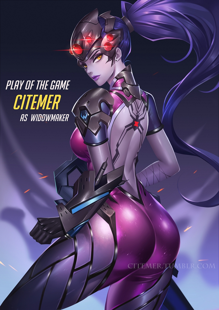 Widowmaker Feet