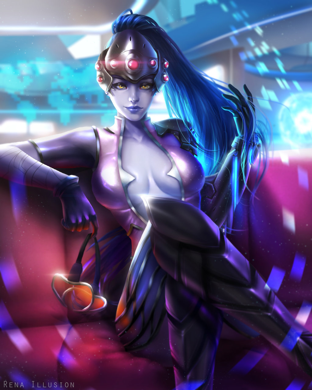 Widowmaker Hottie Look