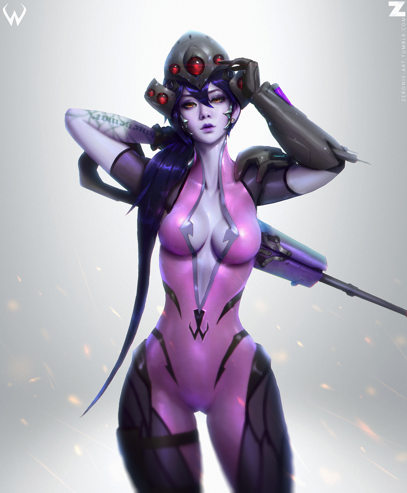 Widowmaker Sad