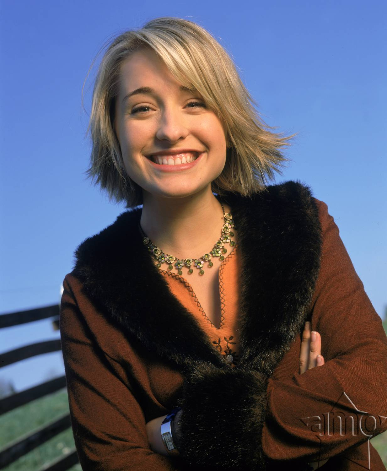 allison mack cute smile