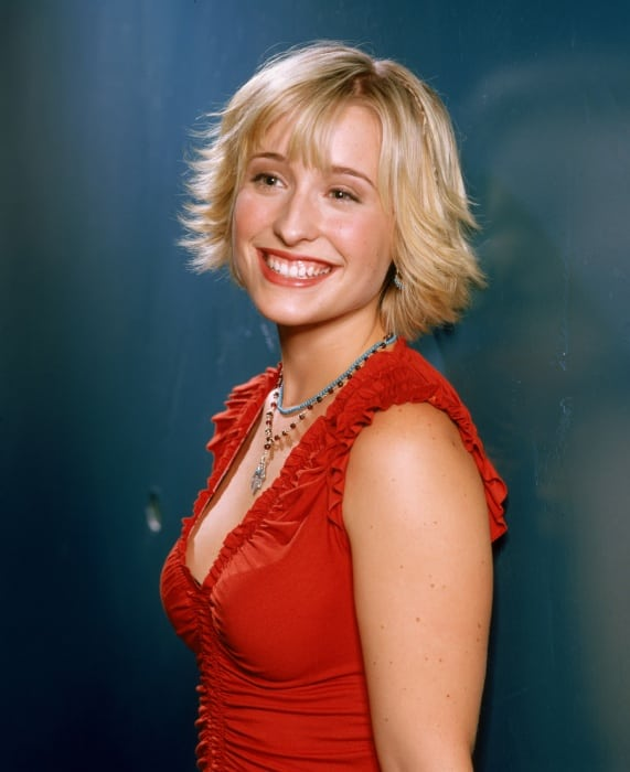 allison mack smile