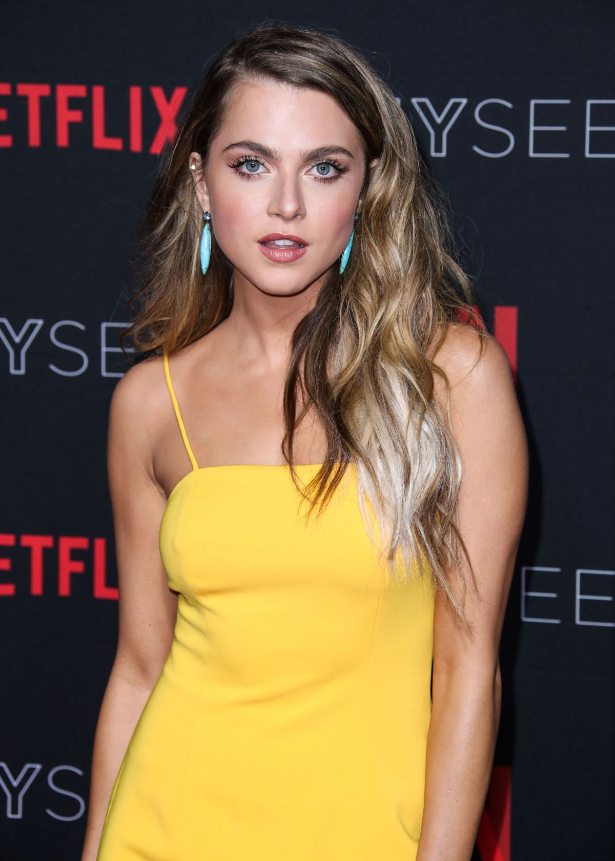 anne winters yellow dress