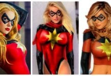 37 Hot Pictures Of Captain Marvel Will Make Your Wait For The Movie Longer.