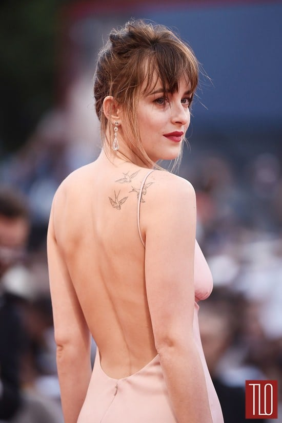 dakota johnson back