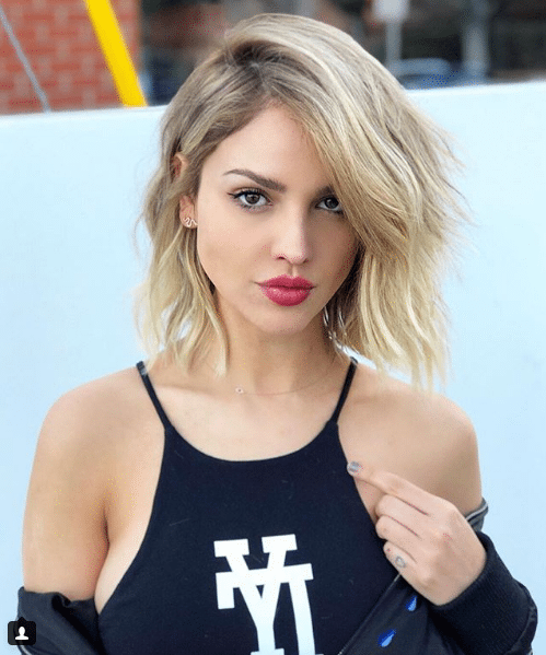 eiza gonzalez blonde hair