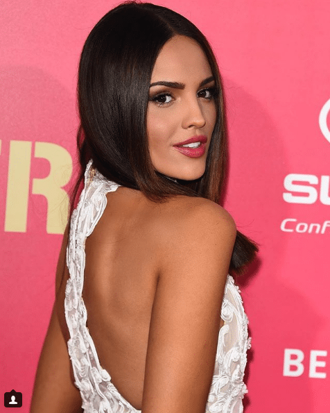 eiza gonzalez hot back