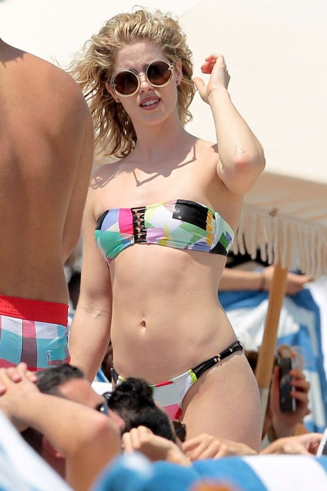 emily bett rickards beach