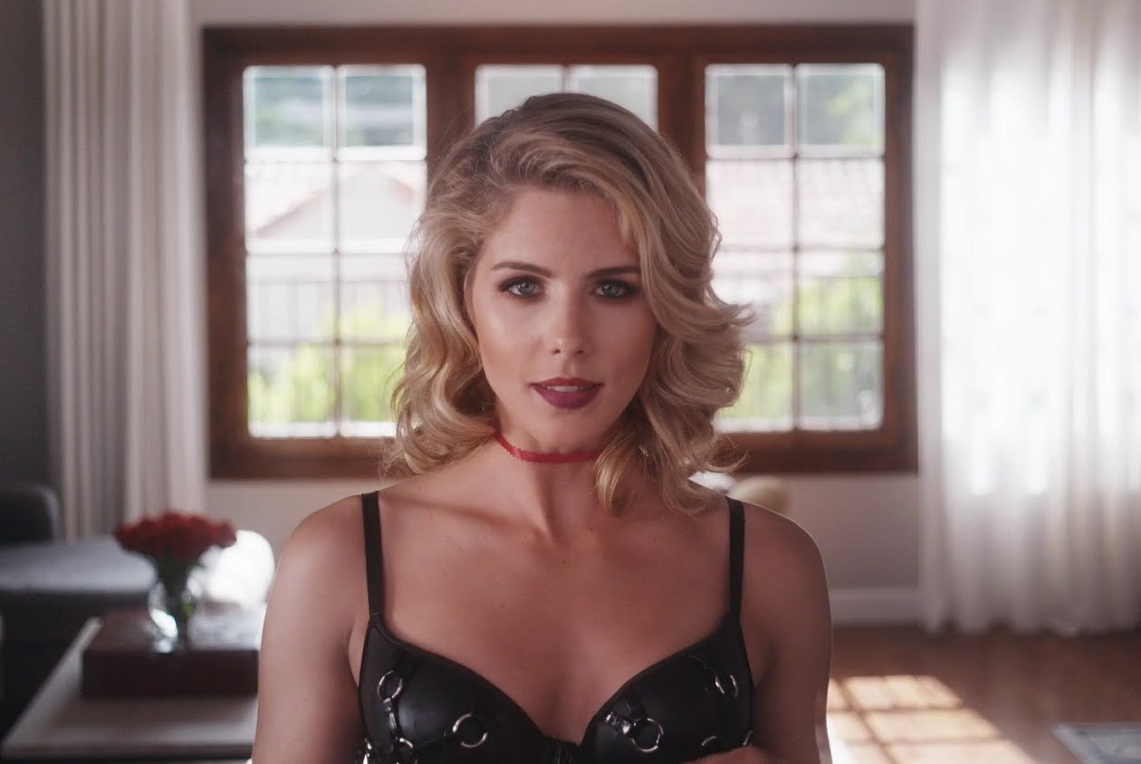 emily bett rickards hot lingerie