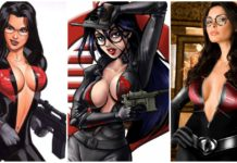 34 Hot Pictures Of Baroness From G.I Joe - One Of The Hottest Cartoon Show Character Of All Time