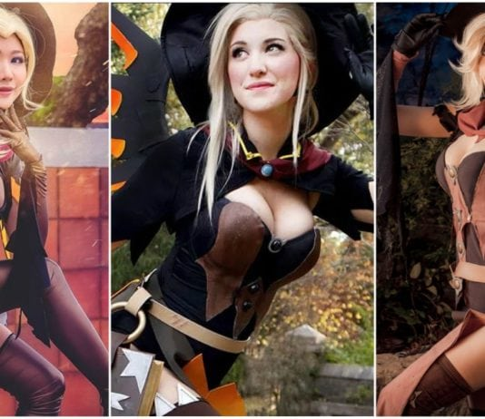 38 Hot Pictures of Mercy From Overwatch