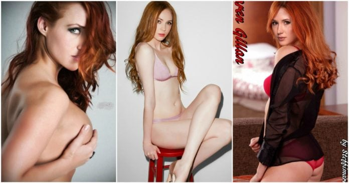 25 Hottest Bikini Pictures Of Karen Gillan - Nebula Actress From Marvel Movies
