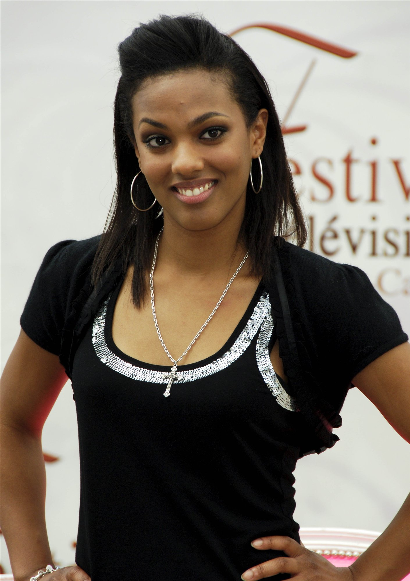freema agyeman black dress