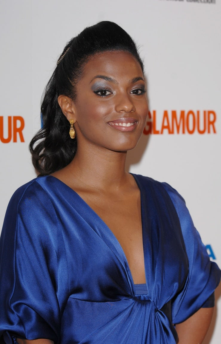 freema agyeman cleavage