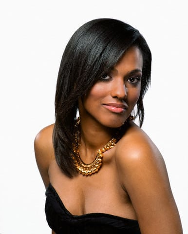 freema agyeman hot cleavage