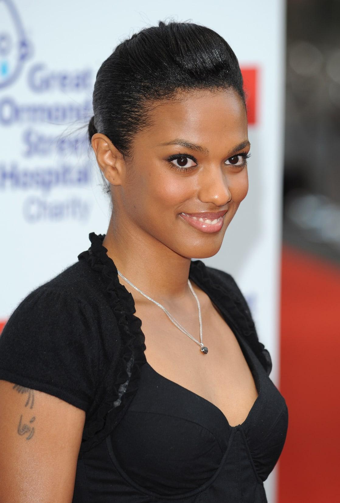 freema agyeman hot smile
