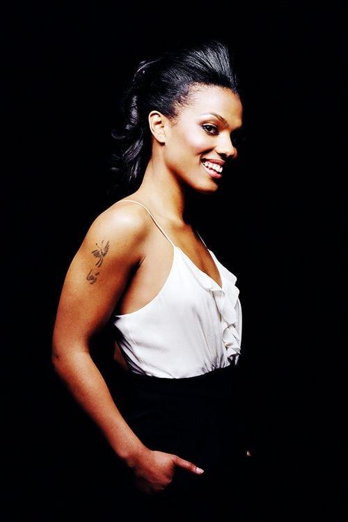 freema agyeman sexy smile