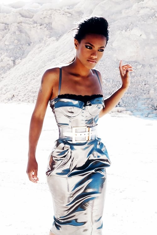 freema agyeman silk dress