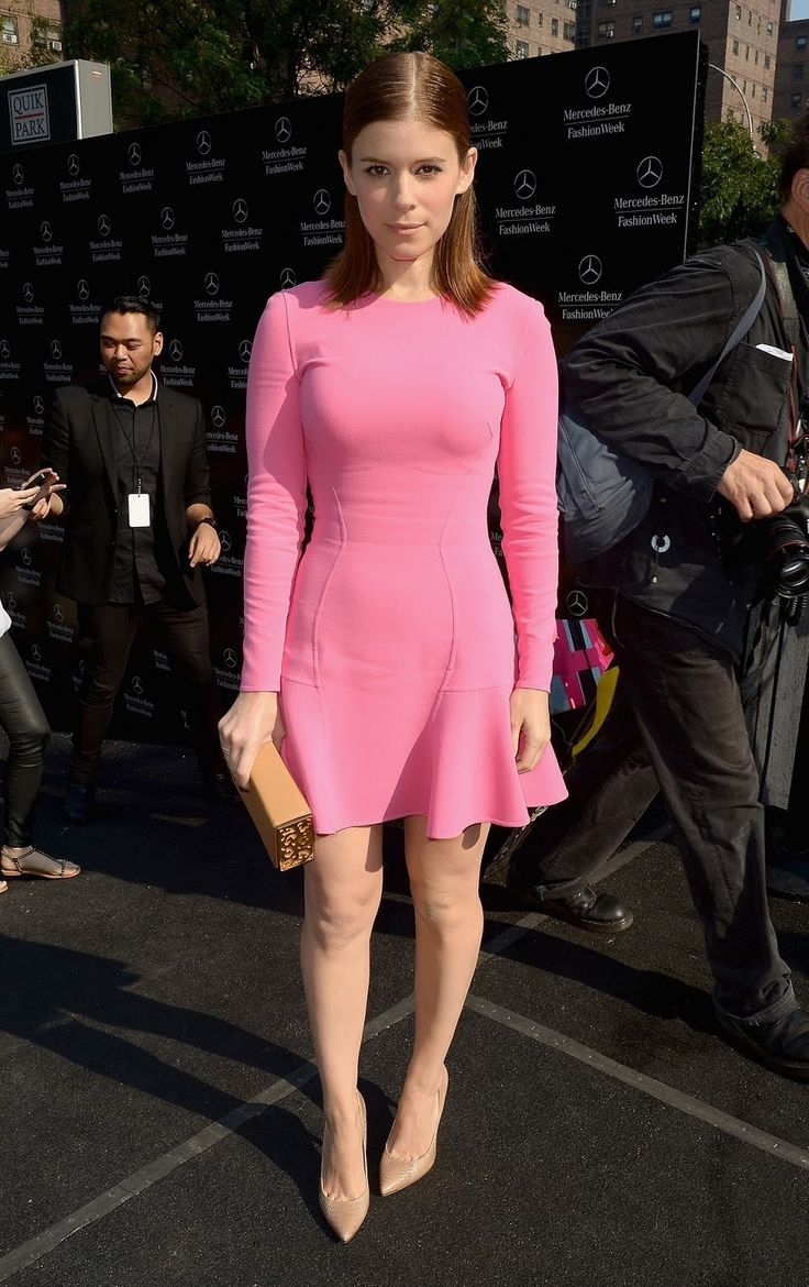 kate mara pink dress