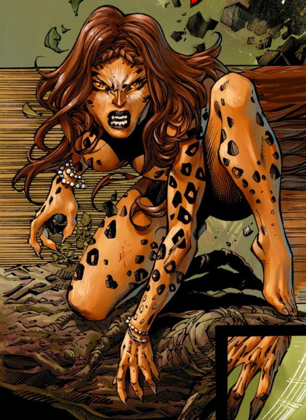Cheetah Comics Hot