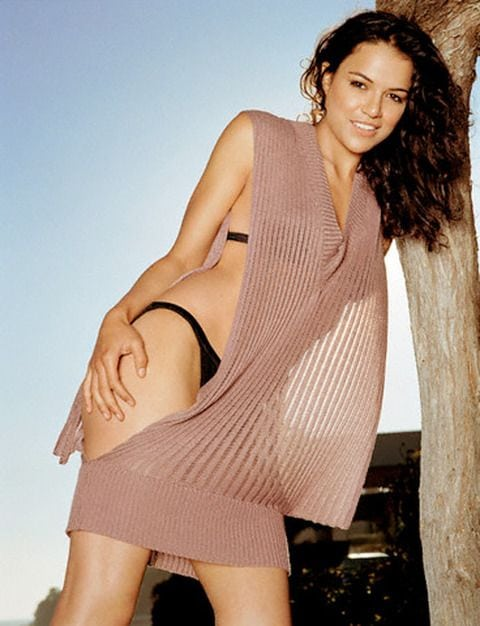 michelle rodriguez hot dress