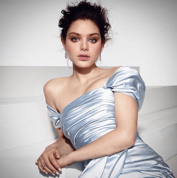 odeya rush silk dress