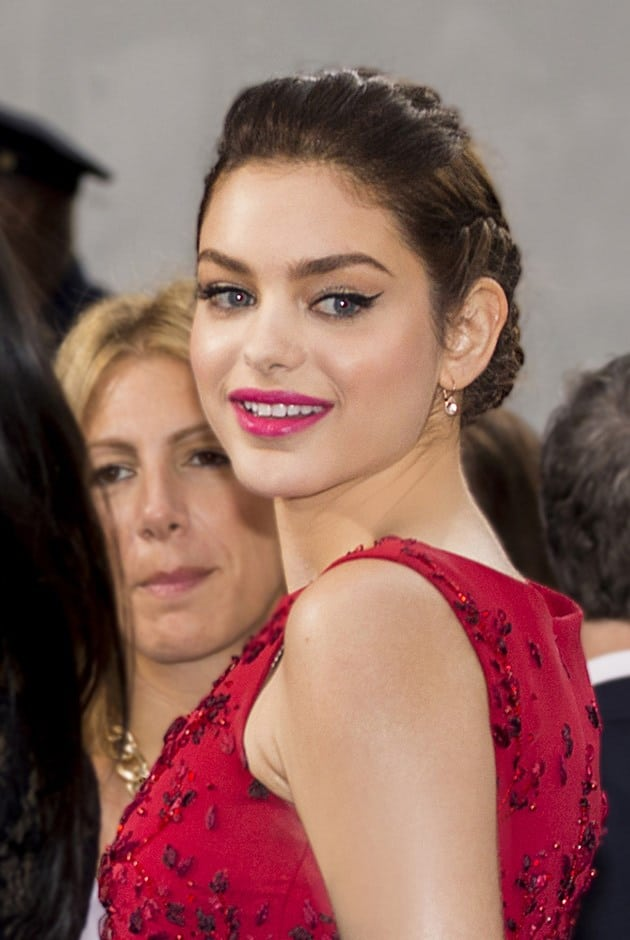 odeya rush smile