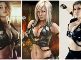 35 Hot Pictures Of Sonya Blade From Mortal Kombat