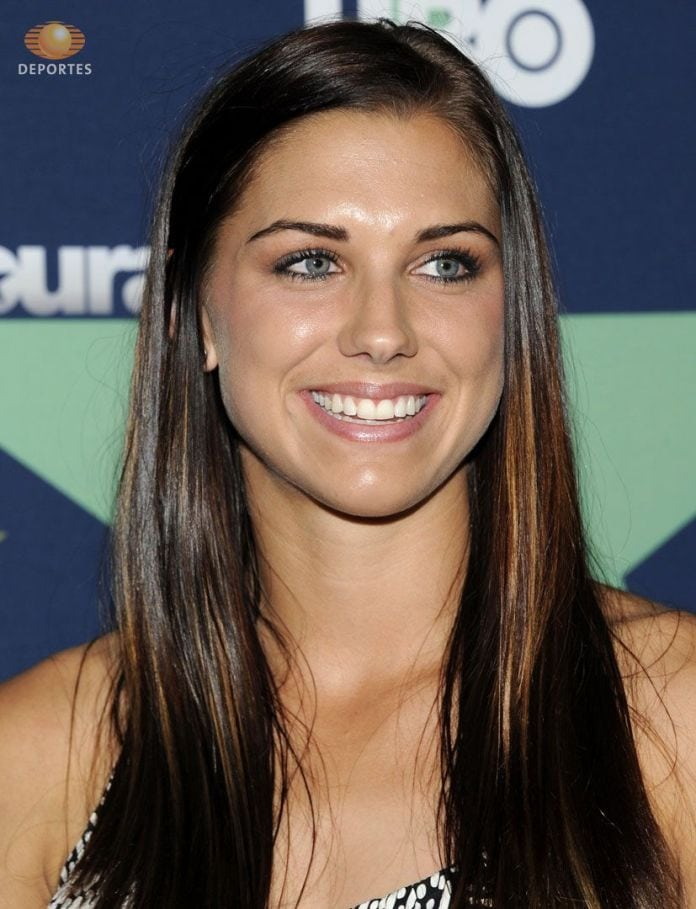 Alex Morgan on Smile