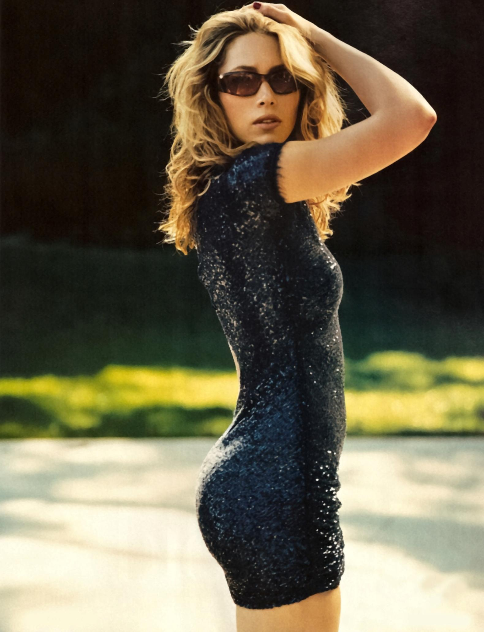Jessica Biel on Photoshoot