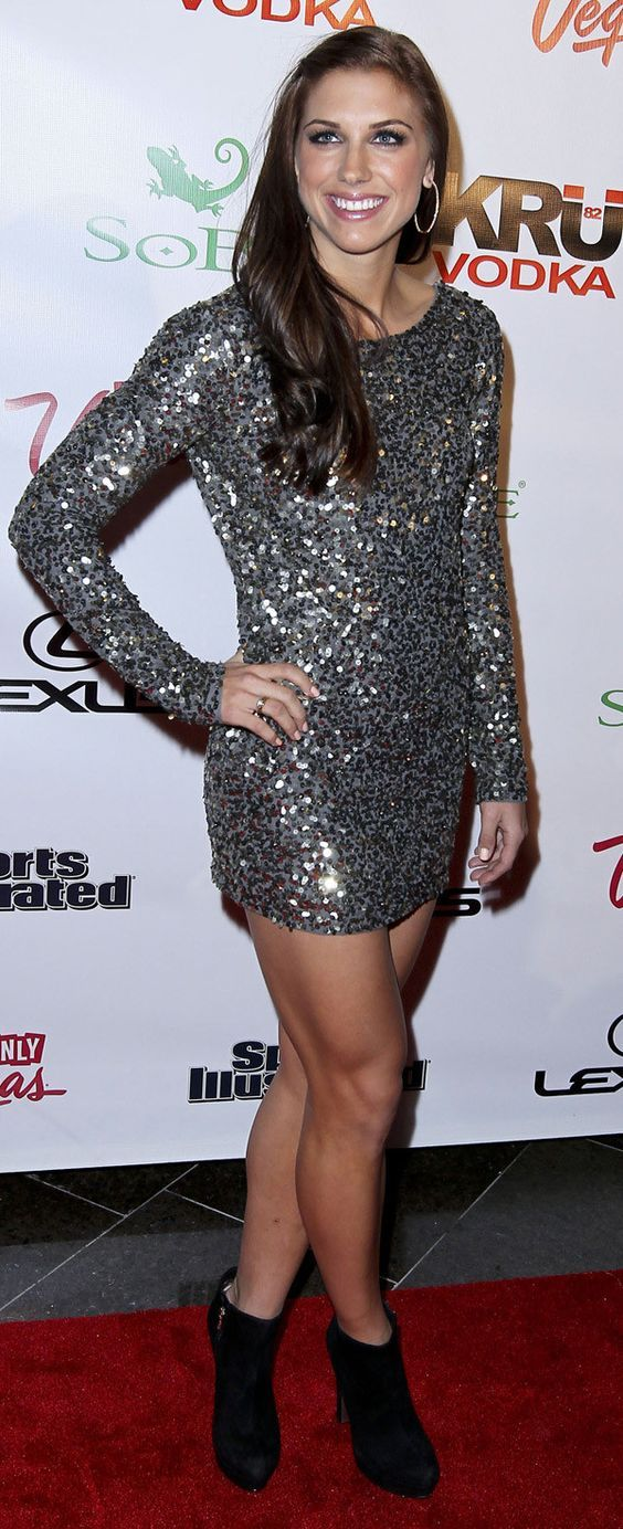 Alex Morgan on Red Carpet