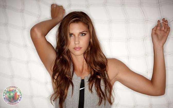 Alex Morgan on Photoshoot