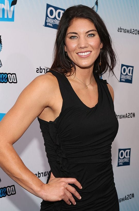 Hope Solo Hot in Black