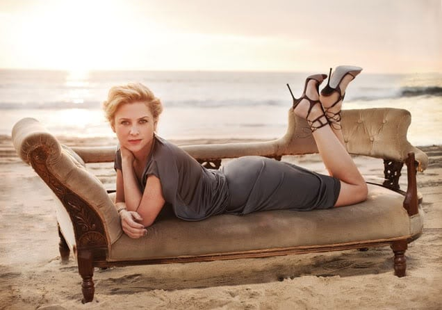 Jessica Capshaw on Beach