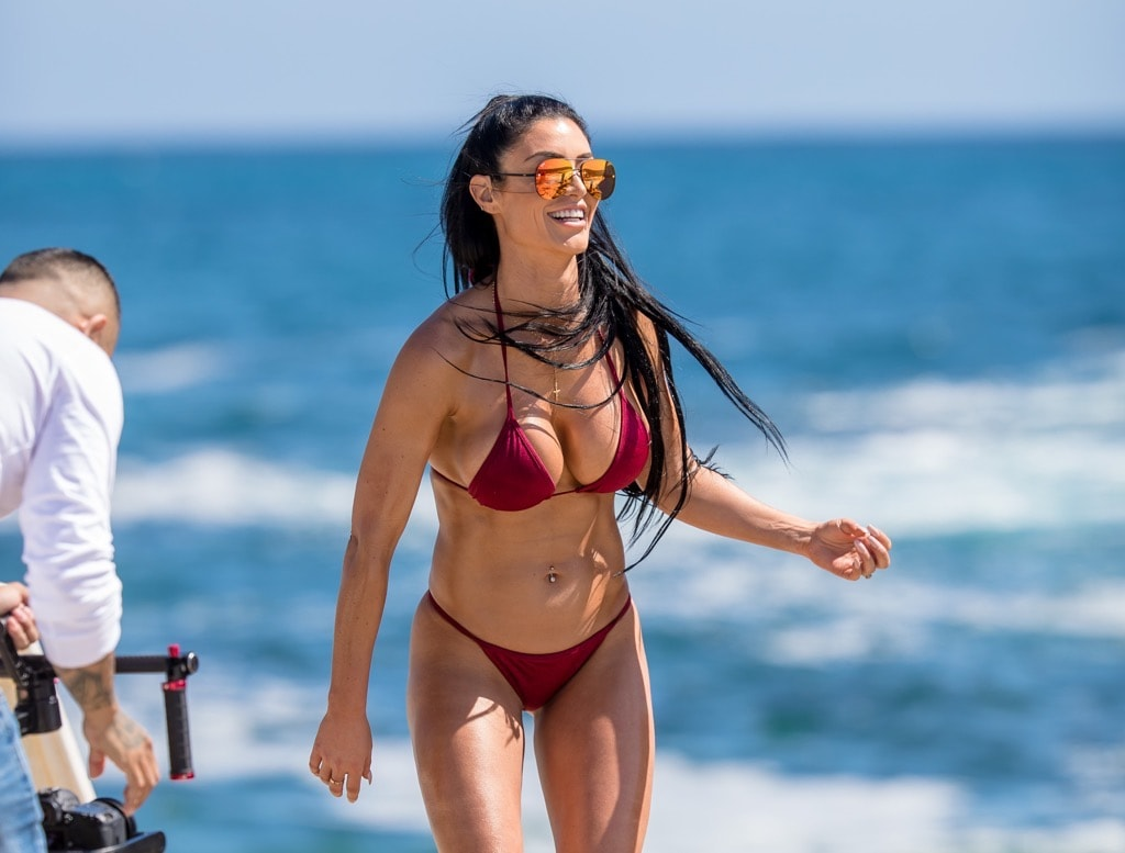 Eva Marie on Beach