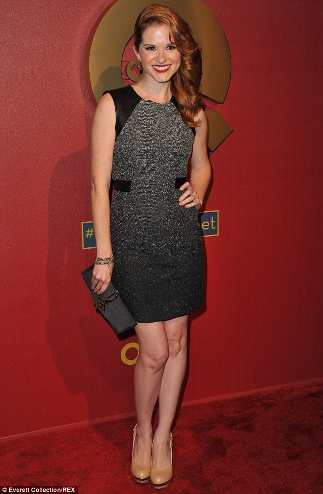 Sarah Drew on Red Carpet
