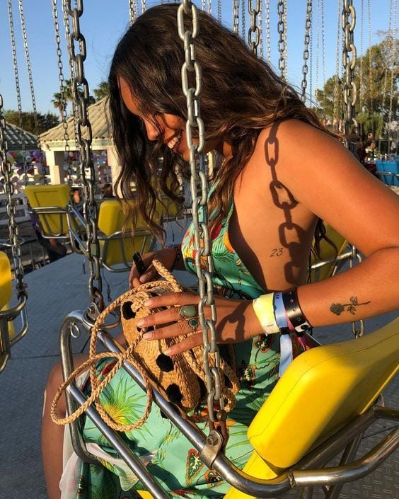 Alisha Boe on Swing