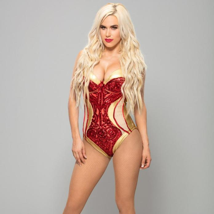 Lana Hot in Red
