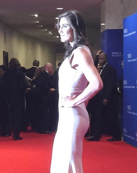 Hope Solo on Red Carpet