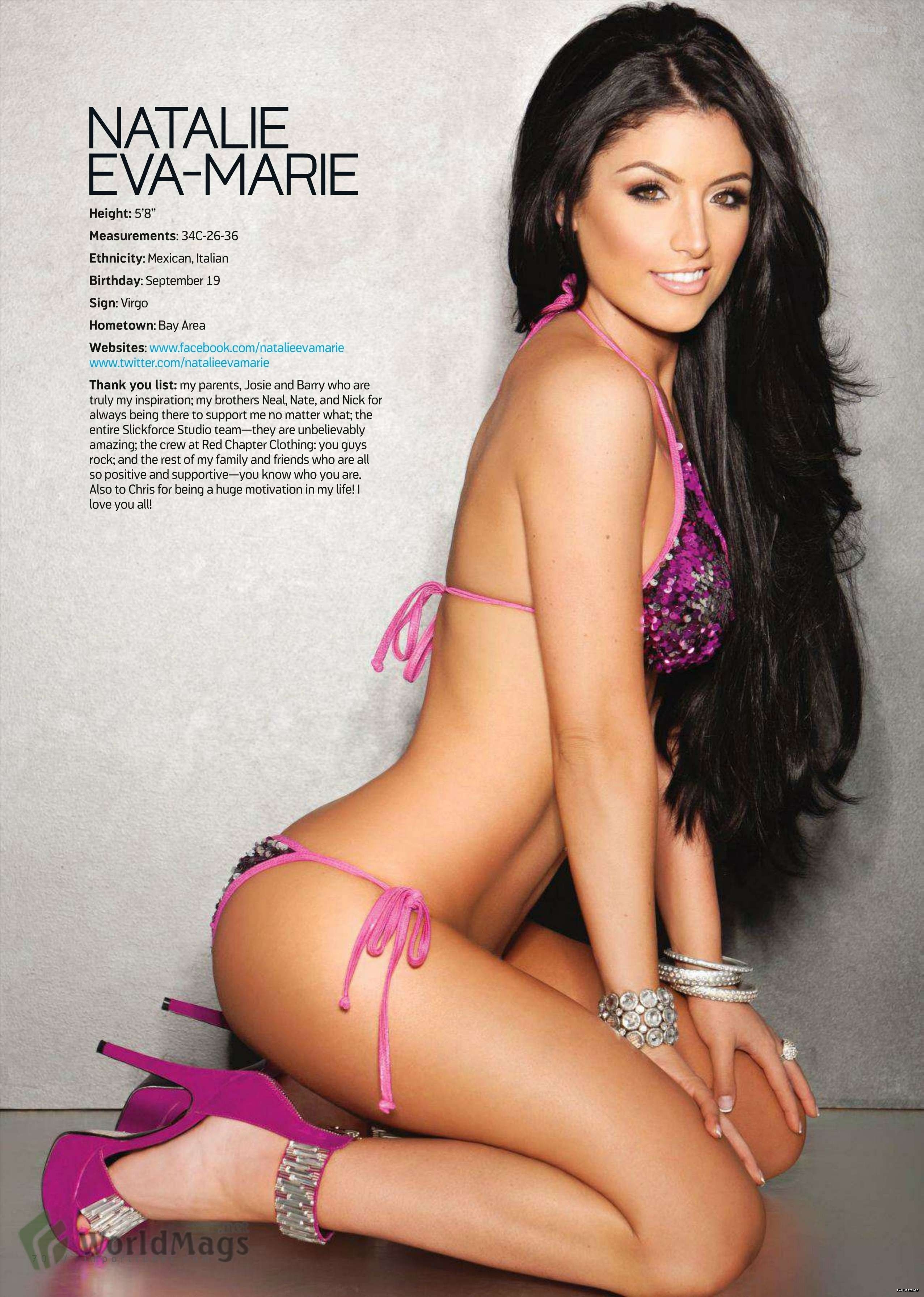 Eva Marie on Photoshoot