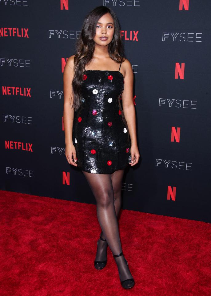 Alisha Boe on Red Carpet